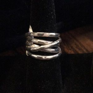 Silpada .925 sterling silver ring size 7.5